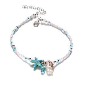 Jewelry - 🆒 Starfish & Shell Bracelet anklet ✨